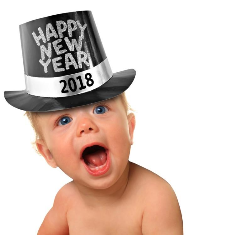 New Years baby 2018